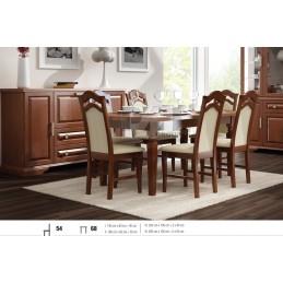 Esstisch mit 6 Stühlen E68S54