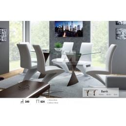 Esstich mit 6 Stühlen S349E624