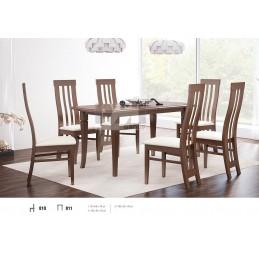 Esstich mit 6 Stühlen E811S810
