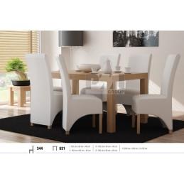 Esstich mit 6 Stühlen S344E631