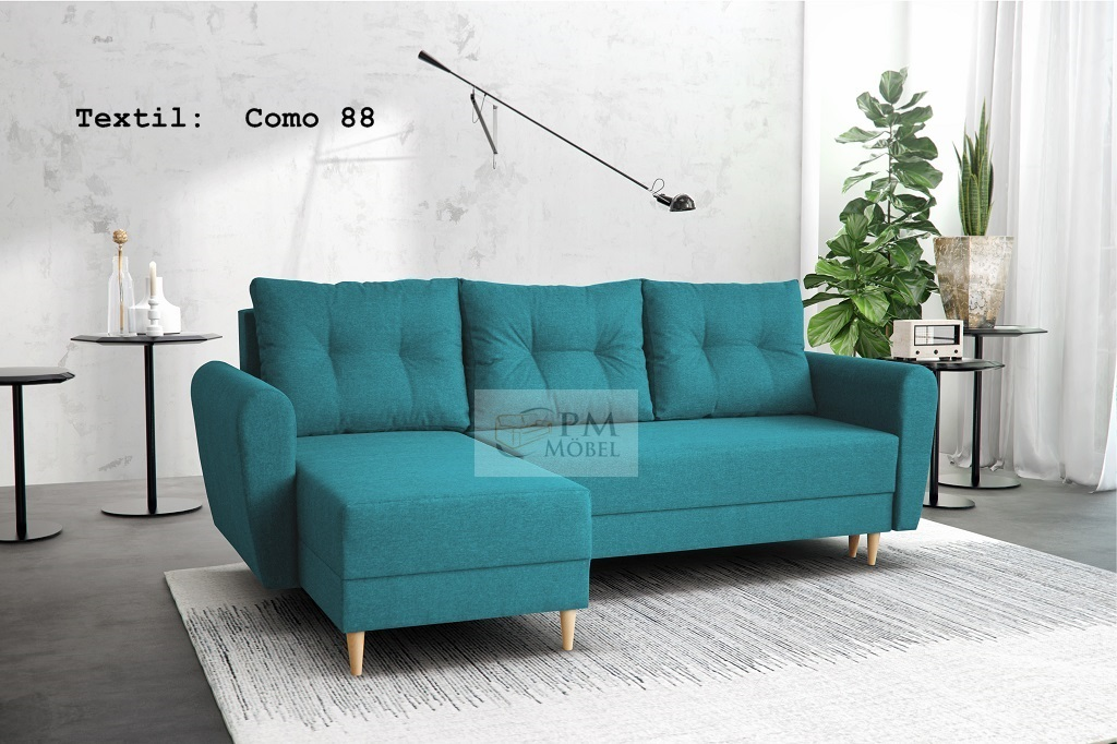 corner sofa stockholm sofa with sleeping function eckcouch scandanavian ebay